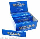 RIZLA BLUE KING SIZE SLIM GENUINE CIGARETTE SMOKING ROLLING PAPERS ORIGINAL