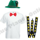 MENS ADULTS BAVARIAN GERMAN BEER MAN OKTOBERFEST FANCY DRESS COSTUME