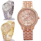 Kyпить Luxury Fashion Geneva Women's Crystal Stainless Steel Quartz Analog Wrist Watch на еВаy.соm