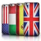 Printed Case for iPhone 6+/Plus 5.5 /Flags Collection