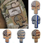 Embroidered USA Flag Police Morale Patch Armband Badge Sticker Crafts New Hot