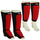New Shin INSTEP Guards Kickboxing muay thai MMA Shin PAD Leg & Foot Protectors
