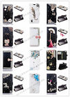 New Bling Crystal Diamond PU Leather Flip Stand Wallet Case Cover for iPhone