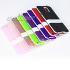 Gel Rubber TPU Stand Case Cover for Samsung Galaxy Note 4, N910F N910C N910A