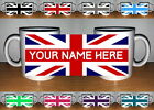 UNION JACK MUG (PERSONALISED / CUSTOM NAME GIFT)