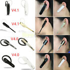 V4.0 V4.1 Bluetooth Wireless Handsfree Headset Stereo Earphone Mic For Cellphone