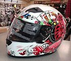 NEW FULL FACE THH JOKER HELMET - ACU GOLD **FREE P+P** WHITE JOKER
