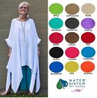 WATERSISTER Cotton Gauze  ANGEL  Long Tails Tunic Top OS (L-2X/3X)  2016 COLORS