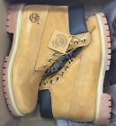 "Timberland Men's 6 "" Inch Boot Classic Premium Waterproof 10061 Wheat Nubuck"