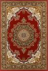 Small XLarge Elegant Classical Traditional Persian Rug Mat Yasemin Red
