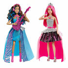 Barbie Rock n Royals Singing Dolls Figures 2 in 1 Spinning Figure Erika Courtney