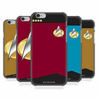 OFFICIAL STAR TREK UNIFORMS AND BADGES TNG BACK CASE FOR APPLE iPHONE PHONES