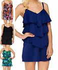 Fit 4 U Hips~V-Tiered Romper Swimsuit~A273952~Choice of Colors & Sizes