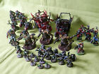 WARHAMMER 40K - PAINTED SPACE ORKS ARMY MANY UNITS TO CHOOSE FROM