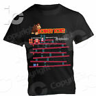 T-Shirt Donkey Kong Arcade Video Games 80 Classic Old Pixel Sprite Bar game