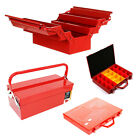 Metal Toolbox 3 5 Tray Cantilever Red 20 32 Tray Organiser Heavy Duty