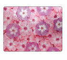 Pink Violets Glass Chopping Board item