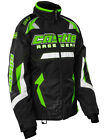 Castle Womens Green/Black Bolt G3 Snowmobile Jacket Snow Snowcross