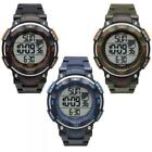 Mens Watch DIADORA OUTDOOR GEAR Digital Chrono Silicone Timer Dual Time