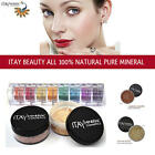 itay Mineral Foundation MF1+8 stack Eyeshadow 'Caribbean + Matching Blush MB6