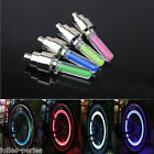 JP 2PCS Cycling Bike Motorcyce Car Wheel Tire Valve Cap Neon LED Light Lamp