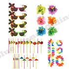 HAWAIIAN HULA LUAU SUMMER HULA BEACH POOL PARTY FANCY DRESS ACCESSORIES LOT.