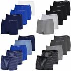 PIERRE CARDIN SEAMLESS UNDERWEAR BOXERS TRUNKS SIZES M L XL PACK OF 5 DESIGNER