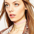 New Woman's Choker Layered PEARL Trend Pink/Red/Black UK