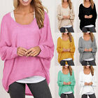 Plus Size Womens Ladies Vest Top Pullover Blouse Casual Tank Oversize Shirts Hot