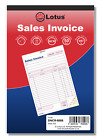 NCR Carbonless Duplicate Invoice Book Preprinted 50 Sets Serially Numbered Pukka