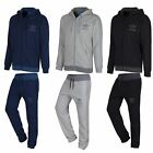 ADIDAS ORIGINALS MEN'S SPO FULL TRACKSUIT NAVY GREY BLACK S M L XL JOGGER FLEECE