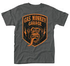 Gas Monkey Garage 'Shield' T-Shirt - NUOVO E ORIGINALE