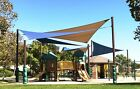 Alion Home© Sun Shade Sail (8 Sizes, 5 Colors) 185 GSM 90%UV HDPE Permeable Mesh