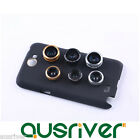 3in1 0.67x Wide Angle+10x Macro+Fish Eye Lens for Samsung Note2 N7100/7108/7102