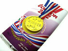 London 2012 Chocolate Bar Olympic year Jubilee Year Novelty Gift FREE GOLD MEDAL
