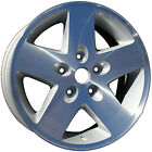 09047 New replacement wheel 16 X 8 All Painted Silver w/o Ledge in Vent