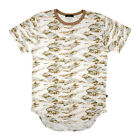 EPTM Epitome Long Extended Elongated White Tiger Camo T-Shirt Made in USA