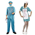 Creepy Terror Male/Female Doctor Nurse Clothing Cosplay Halloween Costume Made