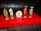 "THE BEATLES ""LEAD"" HAND PAINTED FIGURES SGT.PEPPER'S LHCB ""GOOD SOLDIERS""  FAB!"