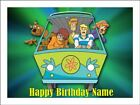 SCOOBY DOO A4 Edible Cake Topper Icing Image Birthday Party Decoration #1