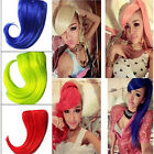 Fashion Straight Hair Fringe Inclined Party Bang Clip-In Front Hair Extensions