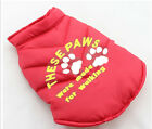 DOG COATS PERSONALIZED WITH EMBROIDERY PINK