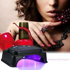 Anself 64W 32pcs LED Light Nail Dryer Lamp Curing Machine Lifting Handle B4X8