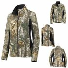 LADIES REALTREE XTRA, CAMO CAMOUFLAGE, MICROFLEECE LINED, ZIP UP JACKET, XS-4XL