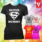 SUPER MUMMY T SHIRT T-SHIRT SUPERMUMMY Birthday Gift Mothers Day Present