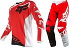 NEW 2016 FOX RACING 180 RACE MX DIRT BIKE MOTOCROSS GEAR COMBO RED ALL SIZES
