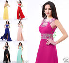 Sequins Chiffon Women's Formal Cocktail Prom Dress Party Dresses Evening Gowns