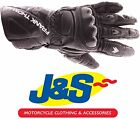 FRANK THOMAS FT2 LEATHER MOTORCYCLE GLOVES MOTORBIKE GLOVE BLACK RACING J&S