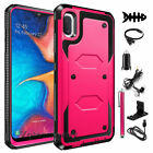 For Samsung Galaxy On5 Shockproof Hybrid Hard Case Skin Phone Cover w/ Accessory