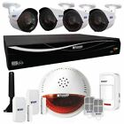 KGuard Easy Link Plus DSH-004 AHD CCTV DVR 4 720p Camera Wireless Home Alarm Kit
